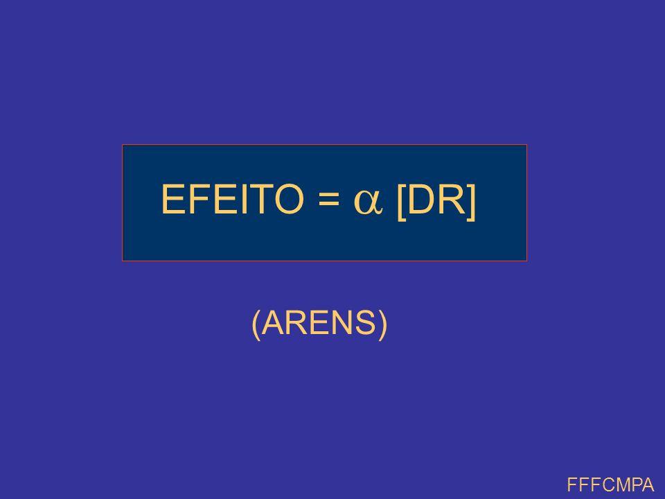 EFEITO =  [DR] (ARENS) FFFCMPA